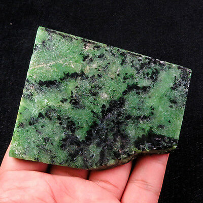 628.2Ct 100% Natural Red Green Bi Color Ruby In Zoisite Rough Specimen YGB87