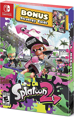 Splatoon 2 Starter Pack [Nintendo Switch Online Shooter Strategy Guide] NEW