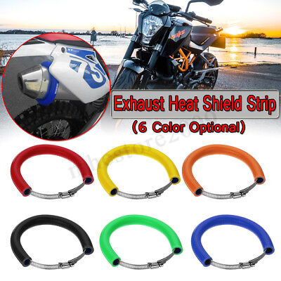 Motorcycle Exhaust Pipe Protector Slider Silencer Cover For 400cc 600cc 1000cc