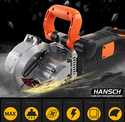 220V Wall Groove Cutting Machine Electric Wall Chaser Slotting Machine Tools