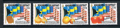Bahamas 1993 Anniv.of The Contract SG 953/6 MNH