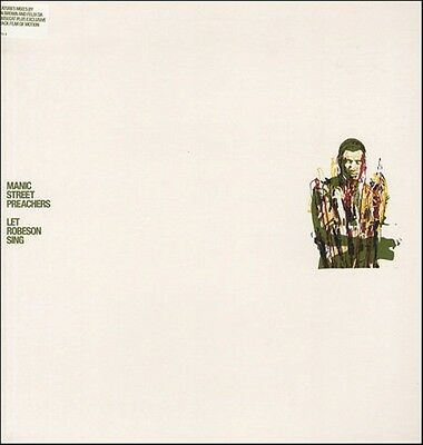 """Manic Street Preachers Let Robeson Sing Limited Uk 12"""""""