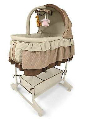 Milly Mally Mini Cuna Musical Melody en color Beig