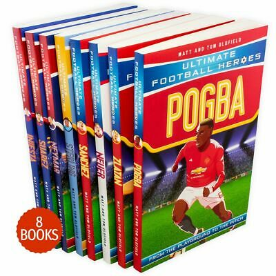 Ultimate Football Heroes Series 2 - 8 Book Collection (Pogba, Sterling, Neymar,