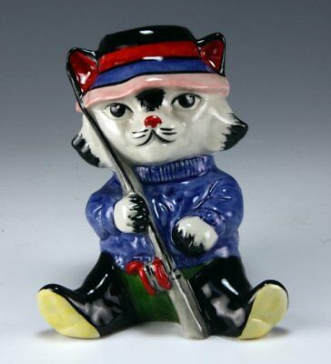 Lorna Bailey FISHERMAN THE CAT COLOURWAY LIMITED EDITION 1/1