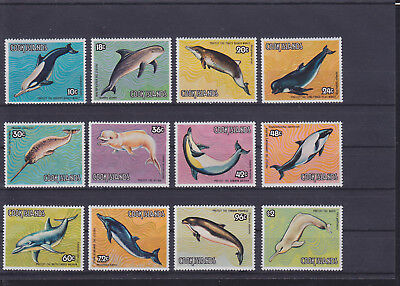 068787 Delfine Dolphins Cook Islands 958-69 ** MNH Year 1984