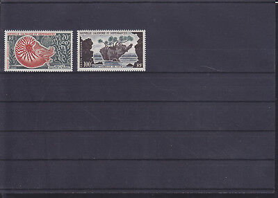 068809 Fische Fish Nouvelle Caledonie 383-84 ** MNH Year 1962