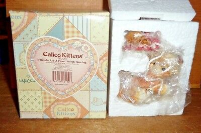 ENESCO Calico Kittens: Friends Are A Feast Worth Sharing: No. 360066