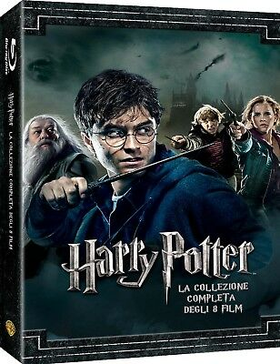 Harry Potter Collection  Standard Edition   8 Blu-Ray