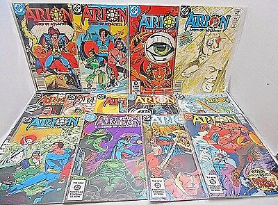 Dc Comics 1St Issue Special 1982-13 Issue Comic Run- New Gods- In Plastic Covers