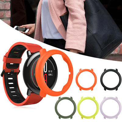 1x PC Case Cover Protective Frame Shell Protector for Huami Amazfit Pace Watch