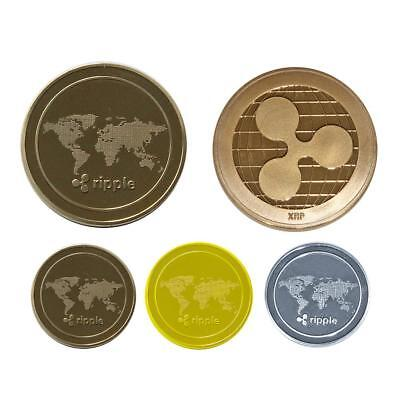Ripple Coin Collection Commemorative Coin Virtual Currency Mining Contracts Gift