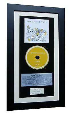 FOSTER THE PEOPLE Torches CLASSIC CD Album QUALITY FRAMED+EXPRESS GLOBAL SHIP!!