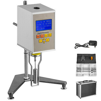 Digital Rotary Viscometer NDJ-5S Viscosity Meter Tester Machine LCD Display
