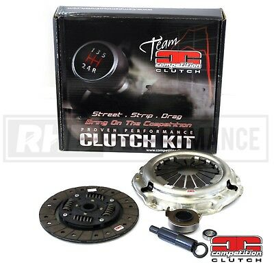 Competition Clutch Kit Stage 2 Kevlar   Fits Mitsubishi Evo 7 8 9 - 4G63