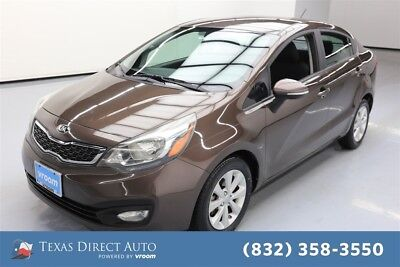 2013 KIA Rio EX Texas Direct Auto 2013 EX Used 1.6L I4 16V Automatic FWD Sedan Premium