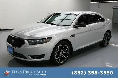 2015 Ford Taurus SHO Texas Direct Auto 2015 SHO Used Turbo 3.5L V6 24V Automatic AWD Sedan Premium