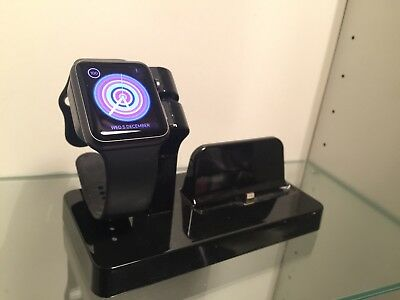 Apple Watch Series One 1 Sport (1St Gen) Black Boxed Complete 42Mm Space Gray