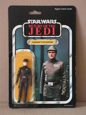 STAR WARS vintage Imperial Commander MOC 65-back Palitoy, Kenner near perfect!