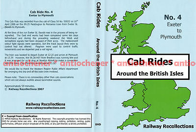 DVD: Cab Rides Around the British Isles - No. 4 Exeter to Plymouth (Railway Reco