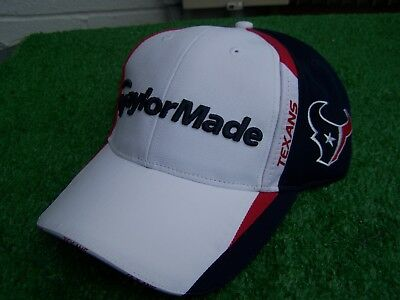 da25d3844 TaylorMade Golf Houston Texans Mesh Back Adjustable NFL Golf Hat Cap NEW