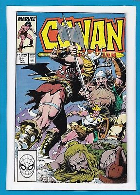 Conan The Barbarian #211_October 1988_Fine+_Marvel Sword And Sorcery!