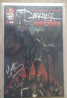 The Darkness High Noon #89A SIGNED Matt Timson Image Comic Top cow