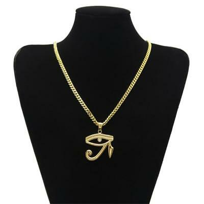 The Eye Of Horus Amulet Stainless Steel Pendant Necklace