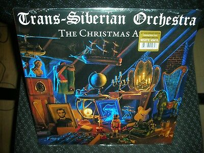Trans-Siberian Orchestra **The Christmas Attic *NEW WHITE RECORD LP VINYL