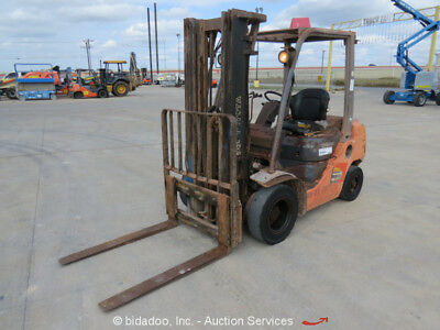 2007 Toyota 8FDU25 4,500 Lbs Warehouse / Industrial Forklift Diesel -Repair