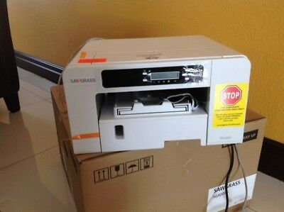 Sawgrass Virtuoso SG400 HD Sublimation Printer with ink