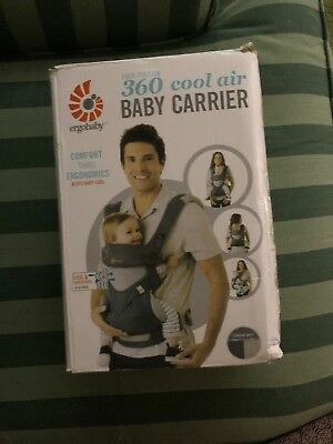30ca8dadfcd ERGO BABY FOUR Position 360 Carrier Cool Air - Carbon Grey -  59.00 ...
