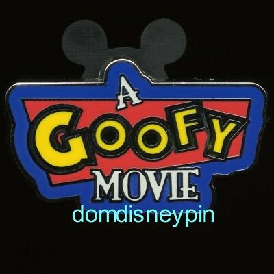 Disney Pin Disney Parks *A Goofy Movie* Themed Set of 4 - Title Logo (Only)!