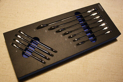 Blue Point 11Pc Metric Ratchet Spanner Set Sold by Snap on NEW in EVA Modular
