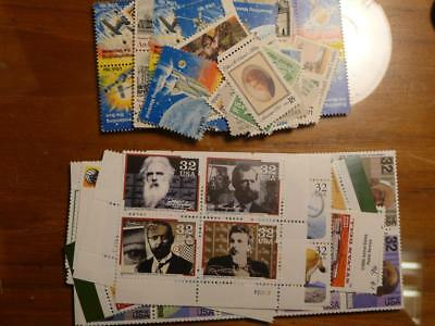US Discount Postage 50 Cent 2 Stamps Combo (18 & 32) FV $26.00 (MNH) SKU#14187