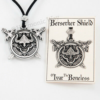 VIKING Necklace ODIN Norse Pendant Berserker's Shield of IVAR the Boneless