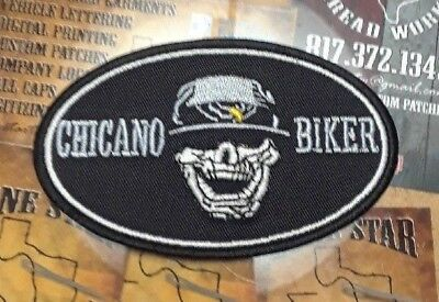 Chicano Biker patch