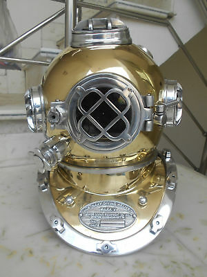U.S Navy  Mark V Real Antique Vintage Marine Divers Diving Helmet XMAS Gift