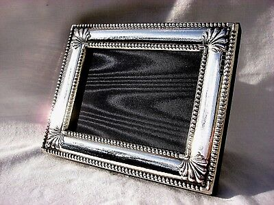 Super Finest 999 Quality Silver Hallmarked London & Britannia Photograph Frame.