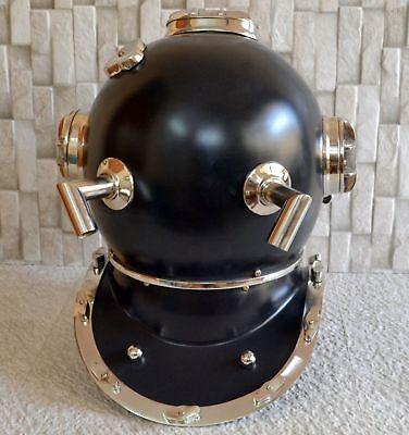US Navy Mark V Scuba Diving Divers Helmet Marine Equipment Maritime Replica 18""