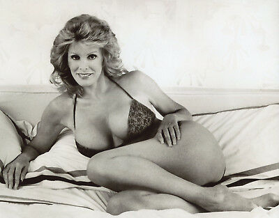 June Wilkinson Leggy Busty 8x10 photo W3636