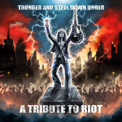 V.A.,Thunder And Steel Down Under- A Tribute To Riot AXEL RUDI PELL,NIGHT DEMON,