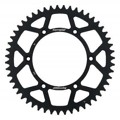 Supersprox Aluminium Black Rear Sprocket 520 51 Teeth Yamaha YZ 490 J 1988
