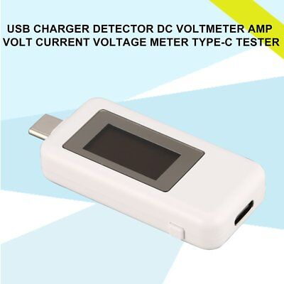 USB Charger Detector DC Voltmeter Amp Volt Current Voltage Meter Type-C Tester M