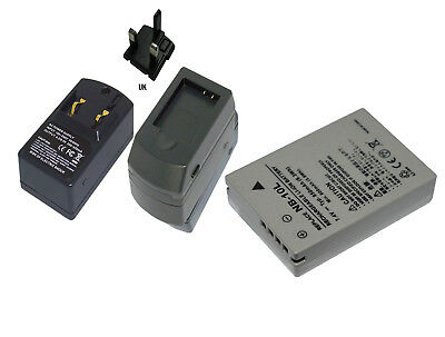 Charger+Battery For CANON NB-10L PowerShot G1 X G15 SX40 HS SX50 HS