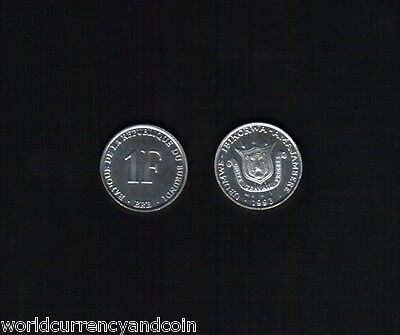 Burundi 1 Franc Km19 1993 X 100 Pcs Coat Of Arms Unc Coin Money Africa Lot