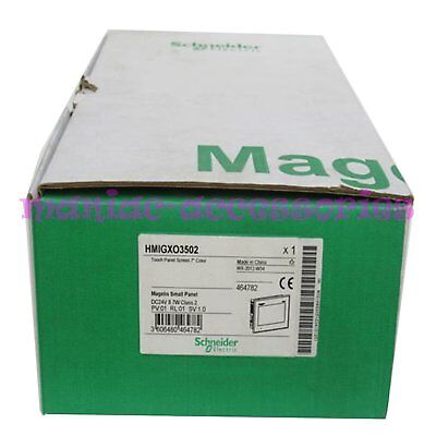 """1PCS New in box Schneider Magelis 7"""" Color Panel Touch Screen HMIGXO3502"""