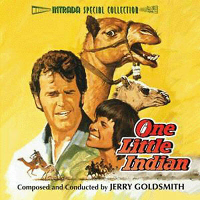 ONE LITTLE INDIAN Jerry Goldsmith CD LIMITED