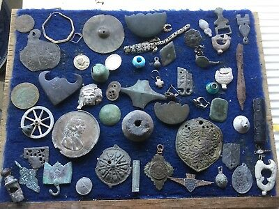 Big Lot Of Detecting Found Artefacts