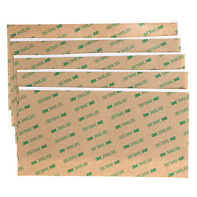 300LSE 3M Heavy Duty Double Sided Sticky Tape STRONG SHEET OF ADHESIVE 4''x8''